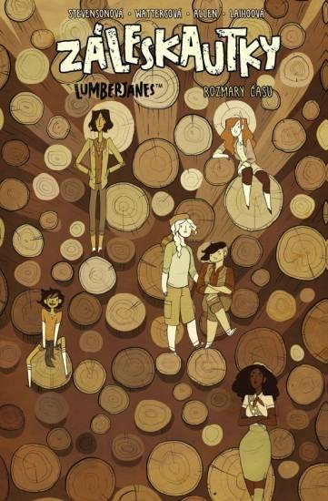 Záleskautky - Lumberjanes 4: Rozmary času