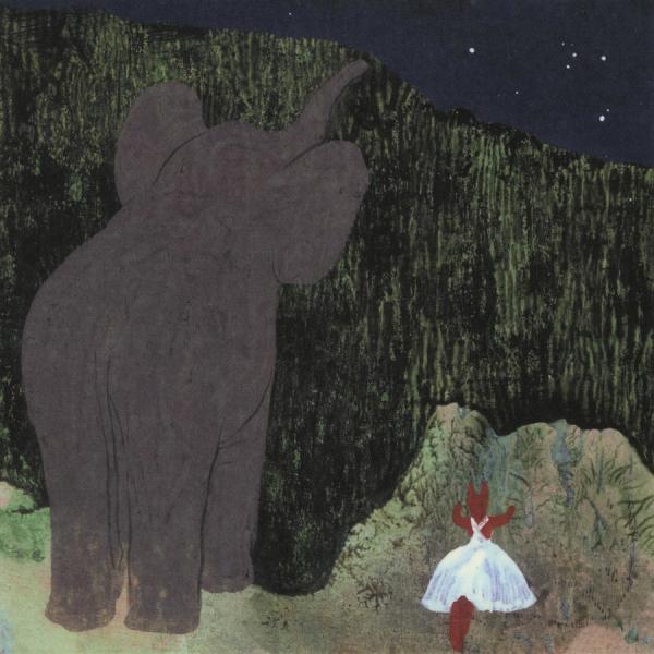 Pohlednice Daisy Mrázková - Slon a mravenec