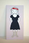 Magnetická oblékací panenka