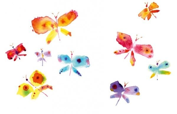 Pohlednice Martina Špinková - Motýli