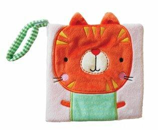Textilní knížka Kočka