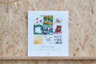 Nástěnný rodinný kalendář Cesty domů 2018