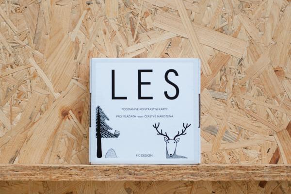LES - kontrastní karty