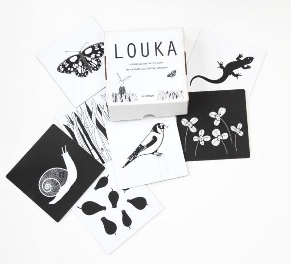 LOUKA - kontrastní karty