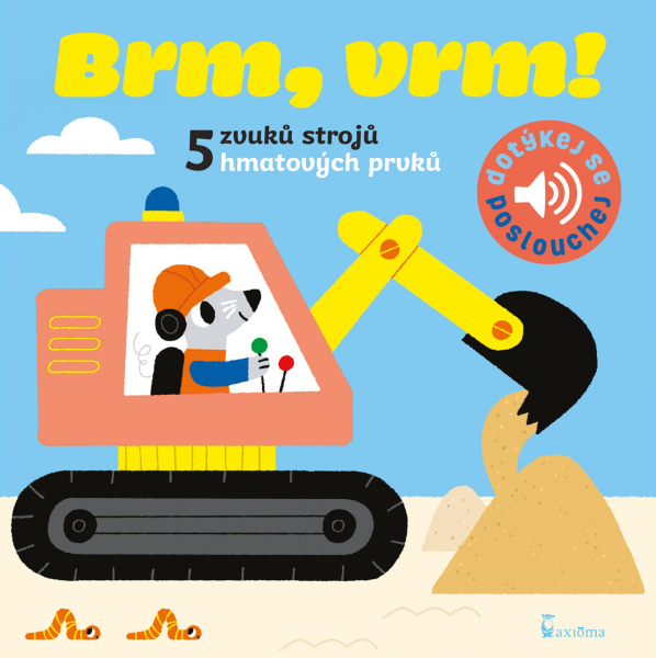 Brm, vrm!: Zvuková knížka